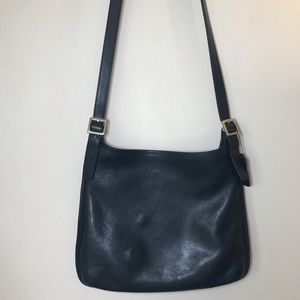 Coach Vintage 9146  Equestrian Black Crossbody